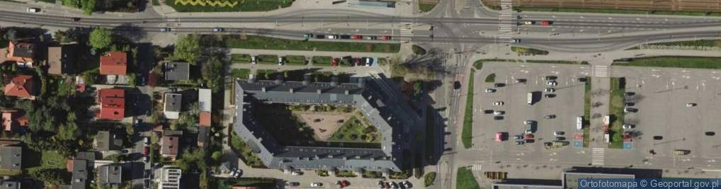 Zdjęcie satelitarne Świeradowska 47B