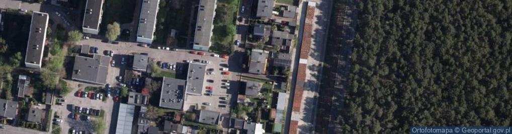Zdjęcie satelitarne Szara ul.