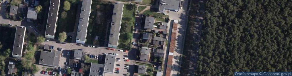 Zdjęcie satelitarne Szara 21