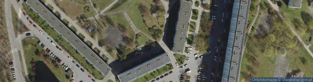 Zdjęcie satelitarne Sztormowa ul.
