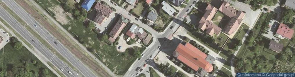 Zdjęcie satelitarne Szara 26b