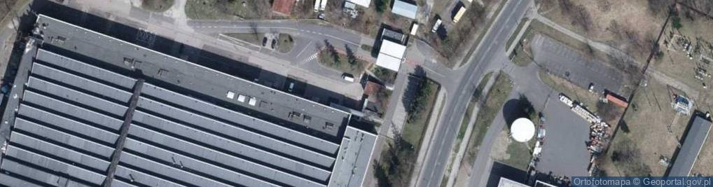 Zdjęcie satelitarne Szparagowa 10