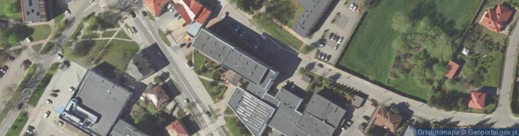 Zdjęcie satelitarne Szosa Zambrowska 1/27