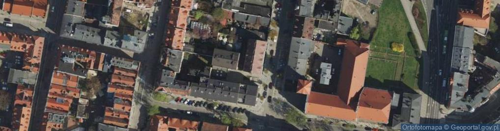 Zdjęcie satelitarne Szewska ul.