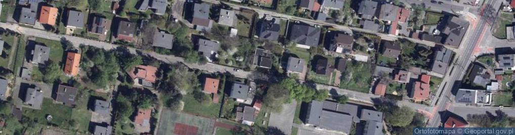 Zdjęcie satelitarne Szkolna ul.