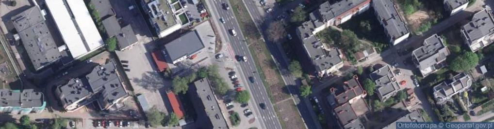 Zdjęcie satelitarne Szosa Chełmińska ul.