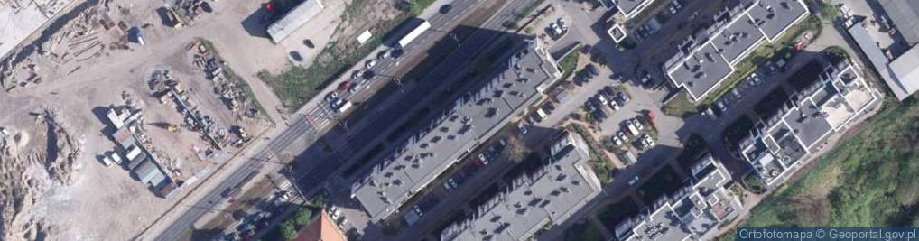 Zdjęcie satelitarne Szosa Lubicka ul.