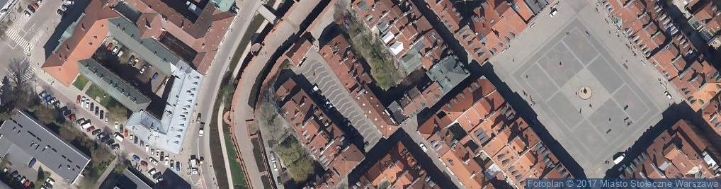 Zdjęcie satelitarne Szeroki Dunaj ul.