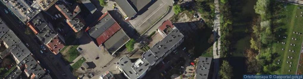 Zdjęcie satelitarne Szybka ul.