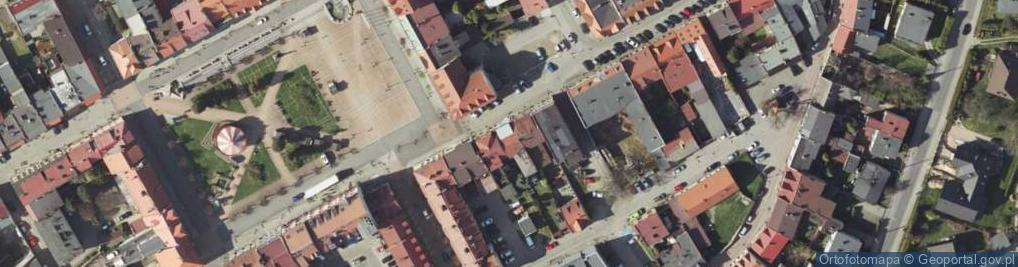 Zdjęcie satelitarne Szeroka 4