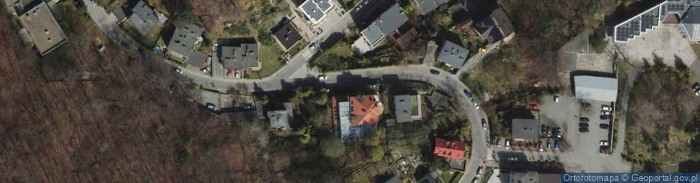 Zdjęcie satelitarne Tatrzańska 10