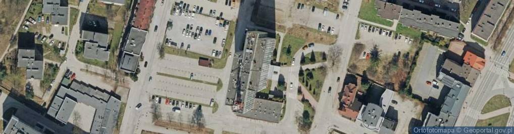 Zdjęcie satelitarne Targowa 18
