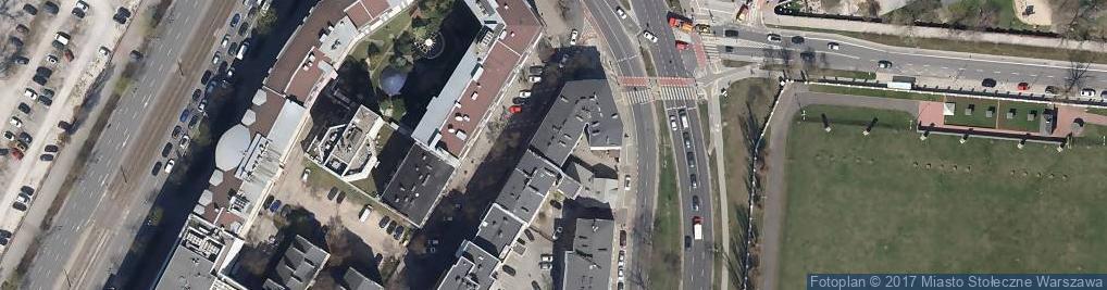 Zdjęcie satelitarne Tarczyńska ul.