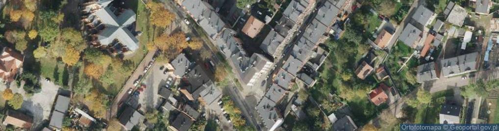 Zdjęcie satelitarne Tarnopolska 68