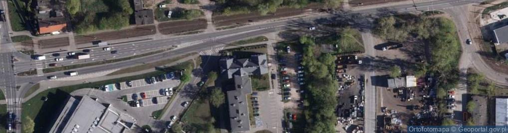 Zdjęcie satelitarne Toruńska 272