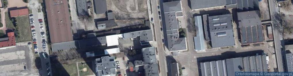 Zdjęcie satelitarne Tramwajowa ul.