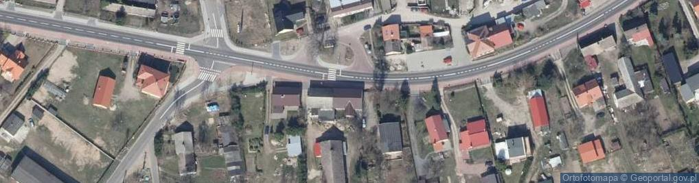 Zdjęcie satelitarne Trzesiecka ul.