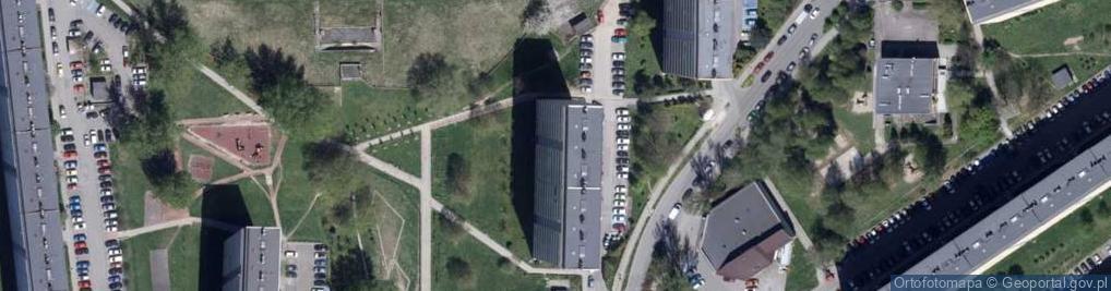 Zdjęcie satelitarne Turystyczna 32