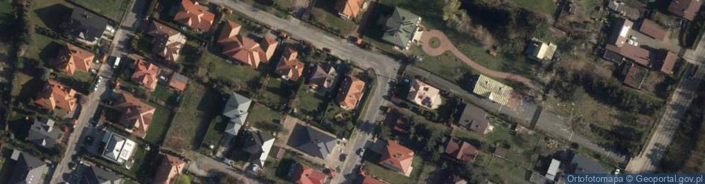 Zdjęcie satelitarne Tulipanowa 1