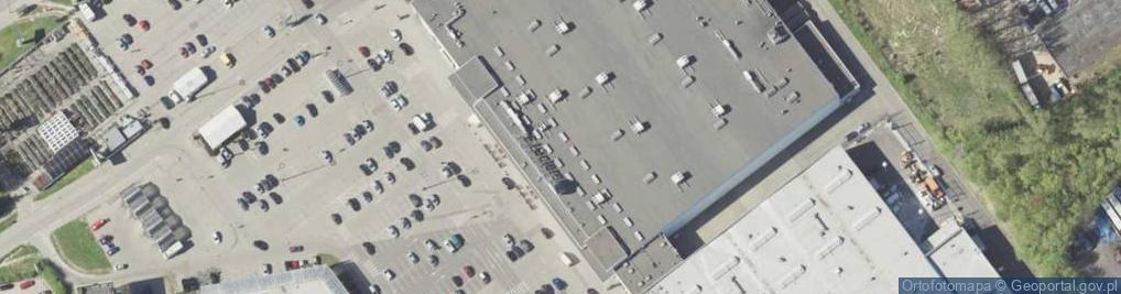 Zdjęcie satelitarne Turystyczna 1