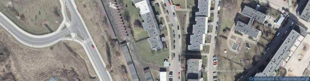 Zdjęcie satelitarne Turkusowa 20