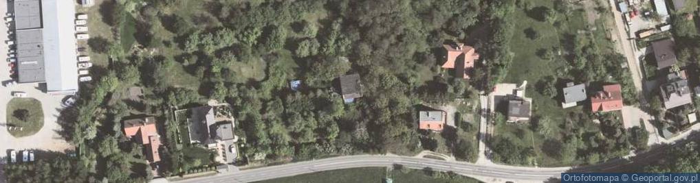Zdjęcie satelitarne Tyniecka 118