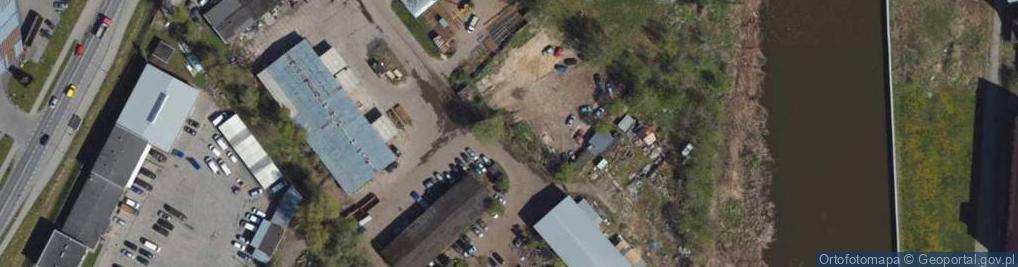 Zdjęcie satelitarne Warszawska 125
