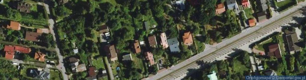 Zdjęcie satelitarne Warszawska 34