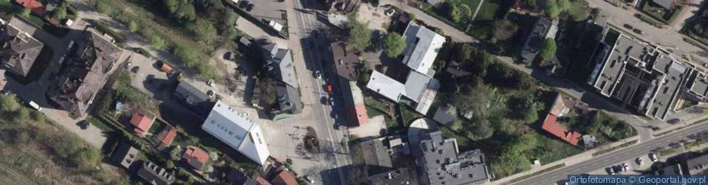 Zdjęcie satelitarne Warszawska 24