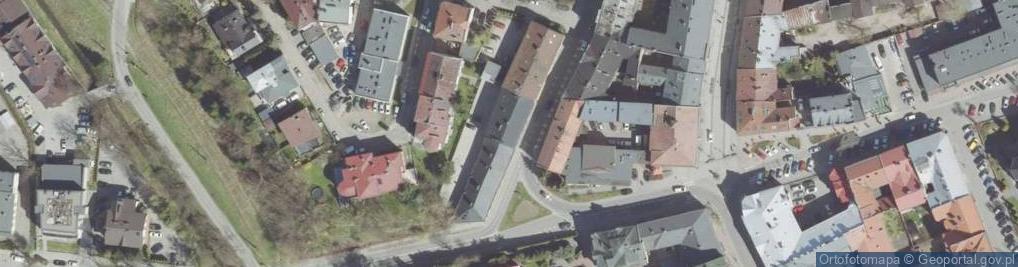 Zdjęcie satelitarne Wąsowiczów ul.