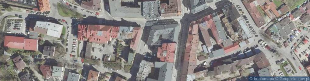Zdjęcie satelitarne Wąsowiczów 1