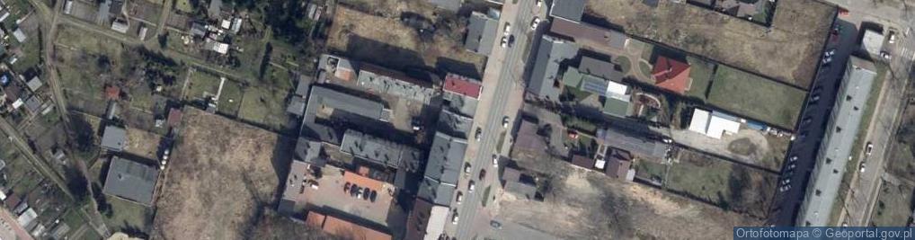 Zdjęcie satelitarne Warszawska 23