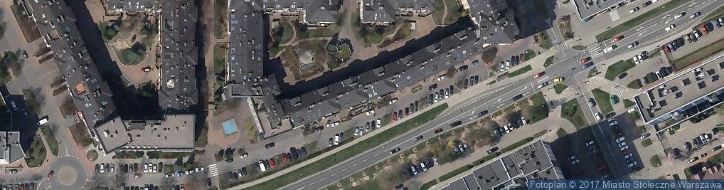Zdjęcie satelitarne Wąwozowa 6