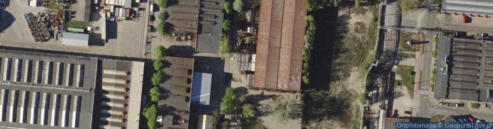 Zdjęcie satelitarne Wagonowa ul.
