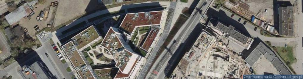 Zdjęcie satelitarne Węglowa ul.