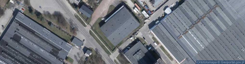 Zdjęcie satelitarne Wersalska 47/75