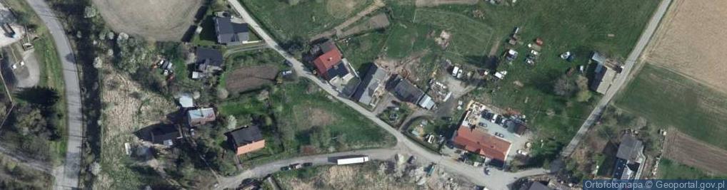 Zdjęcie satelitarne Węglowa Wola ul.