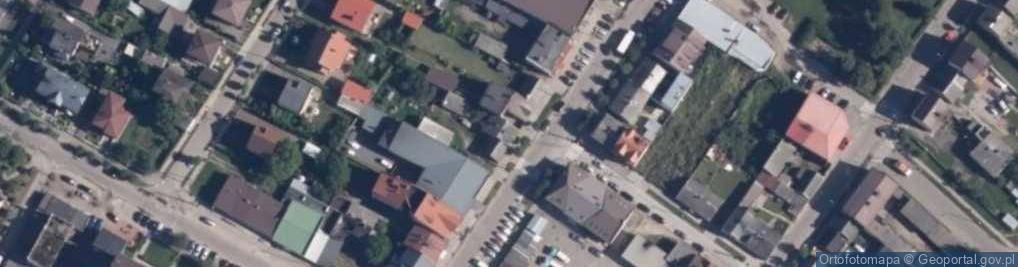 Zdjęcie satelitarne Wetmańskiego Leona, bp. ul.