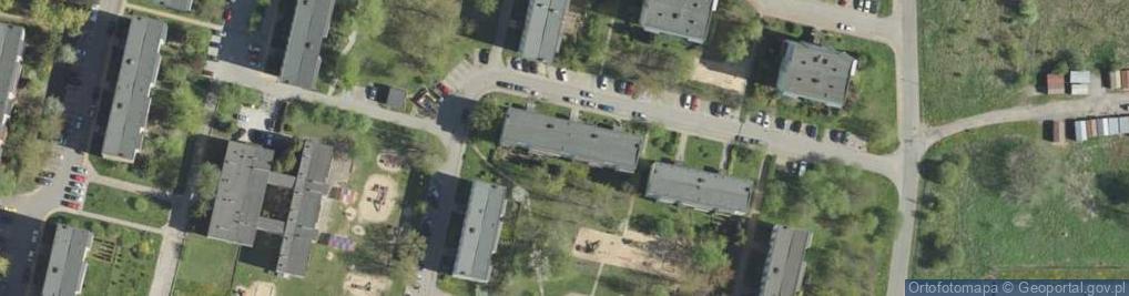 Zdjęcie satelitarne Witosa Wincentego 12