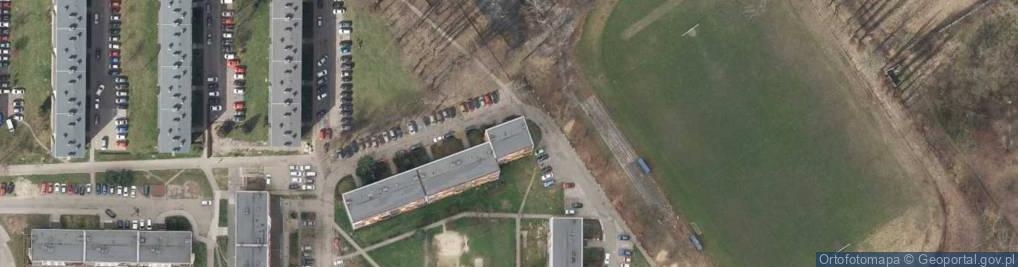 Zdjęcie satelitarne Wiślana 21