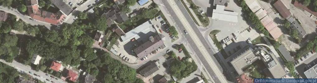 Zdjęcie satelitarne Wielicka ul.