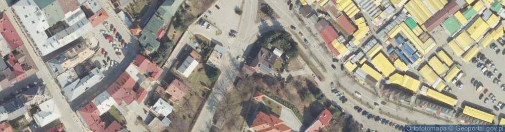 Zdjęcie satelitarne Wisłocza ul.