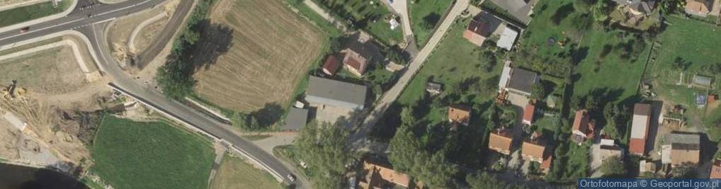 Zdjęcie satelitarne Widokowa 1