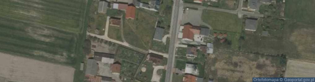 Zdjęcie satelitarne Wiejska 87