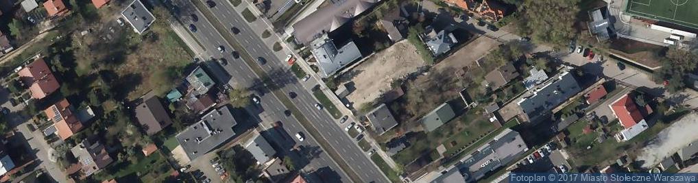 Zdjęcie satelitarne Wiertnicza 136