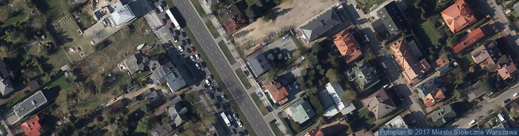 Zdjęcie satelitarne Wiertnicza 44