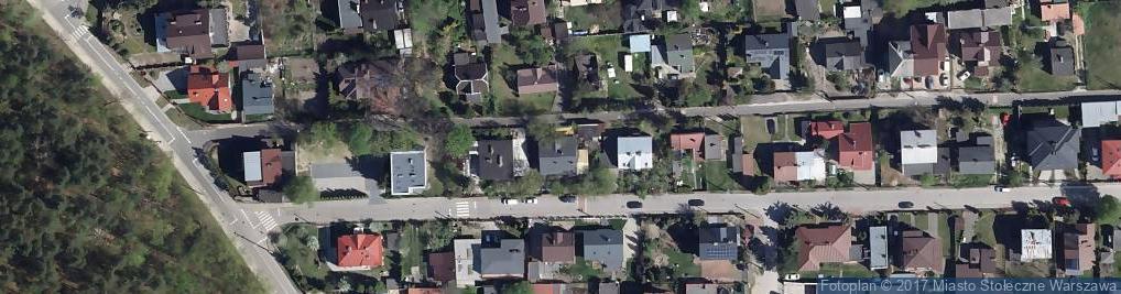 Zdjęcie satelitarne Wilanowska 9
