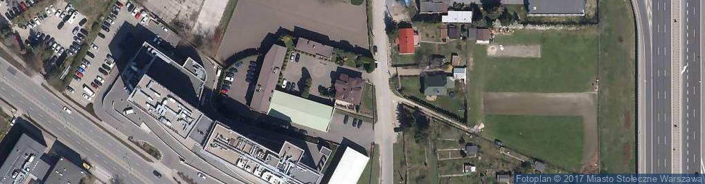 Zdjęcie satelitarne Wirażowa 119