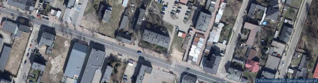 Zdjęcie satelitarne Wojska Polskiego 32