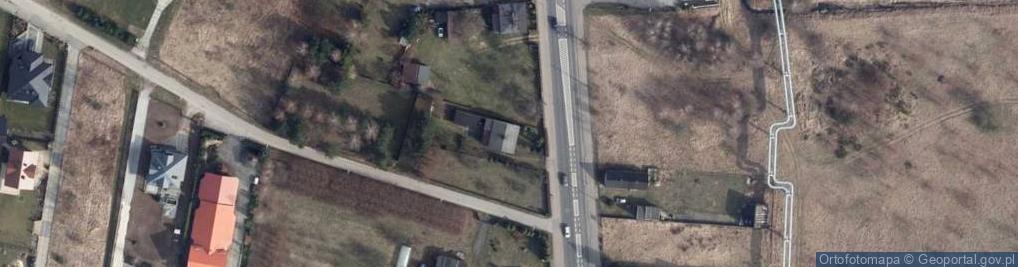 Zdjęcie satelitarne Wojska Polskiego 167